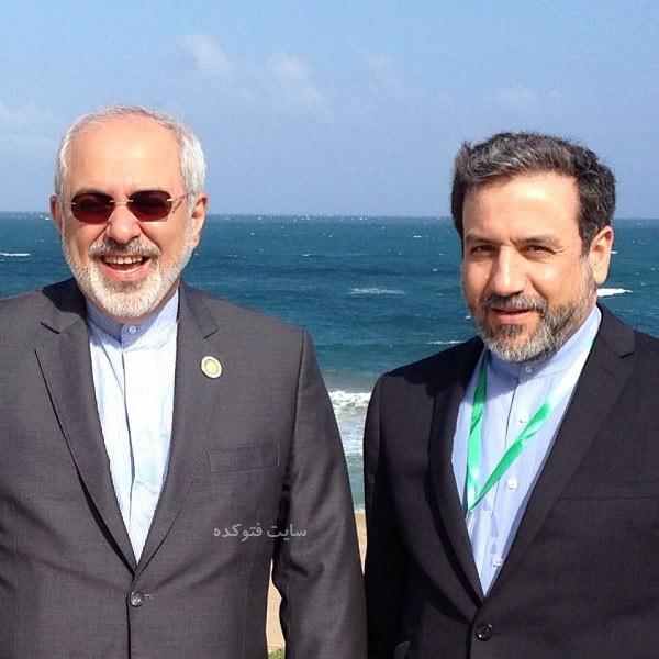 Abbas Araghchi و جواد ظریف