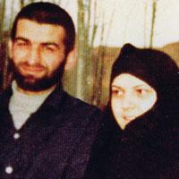 عباس بابایی و همسرش + زندگی شخصی خلبانی