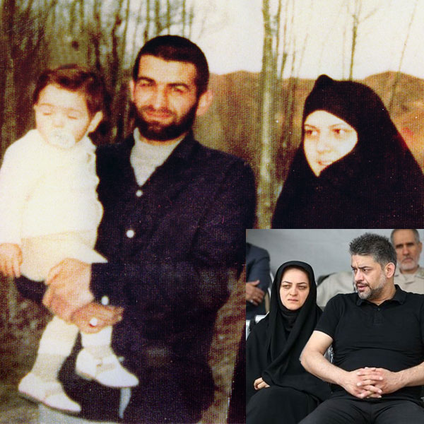 همسر عباس بابایی + فرزندان شهید عباس بابایی