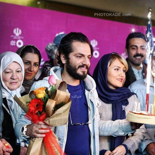 عکس عباس غزالی و همسرش