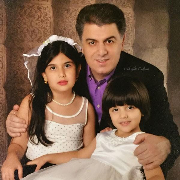 عکس های سید عباس سجادی و فرزندان دخترش