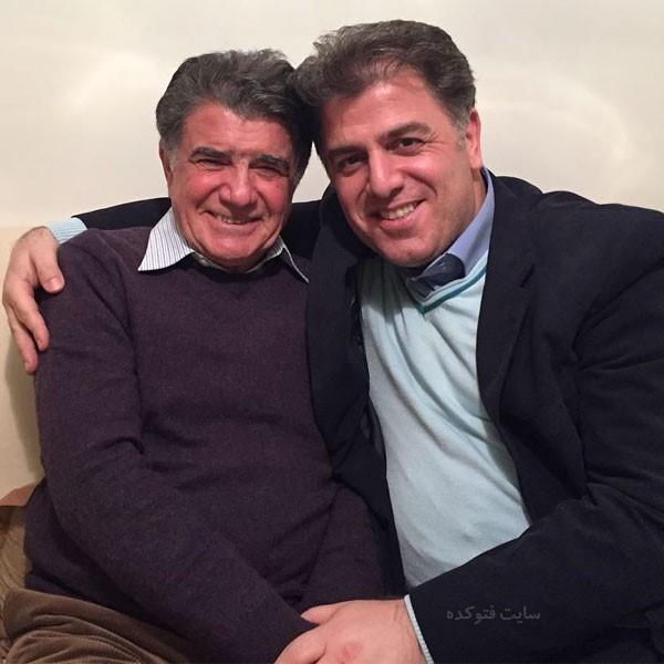 ممنوع التصویری عباس سجادی بخاطر استاد شجریان