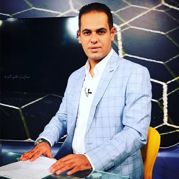 بیوگرافی عباس قانع گزارشگر فوتبال + عکس های شخصی