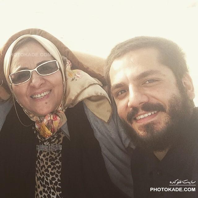 عباس غزالی و مادرش + بیوگرافی کامل
