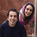 بیوگرافی عباس جمشیدی و همسرش فریبا امینیان + عکس
