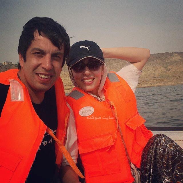 عباس جمشیدی و همسرش فریبا امینیان + بیوگرافی