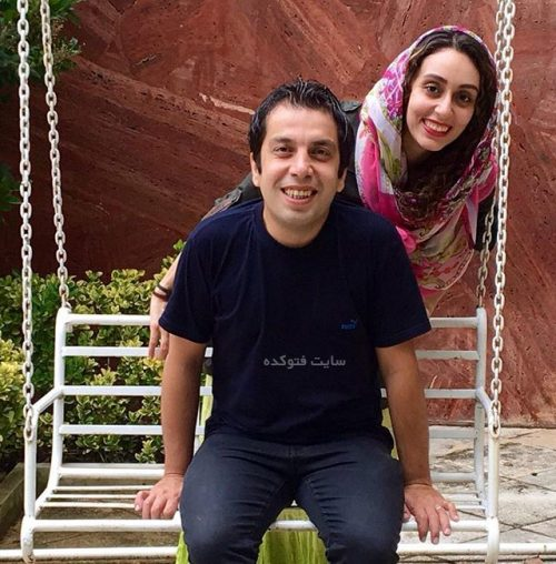 عکس عباس جمشیدی و همسرش فریبا امینیان
