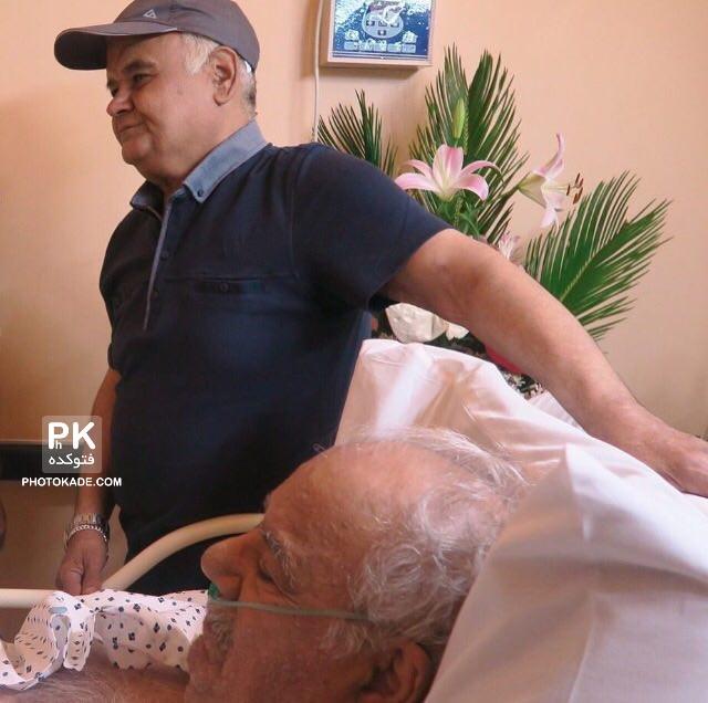 آخرین عکس ناصر ملک مطیعی در بیمارستان دی