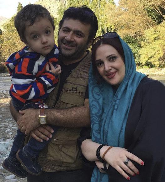 عکس خانوادگی شهرام عبدلی
