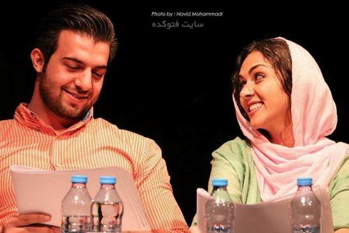 عبدالله روا و همسرش