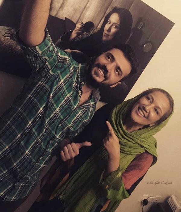 عکس ابوطالب حسینی و پانته آ بهرام + زندگی شخصی