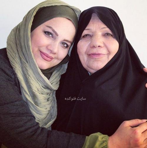 عکس نرگس آبیار و مادرش + زندگینامه شخصی