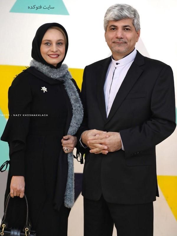 عکس جدید و بیوگرافی مریم کاویانی و همسرش