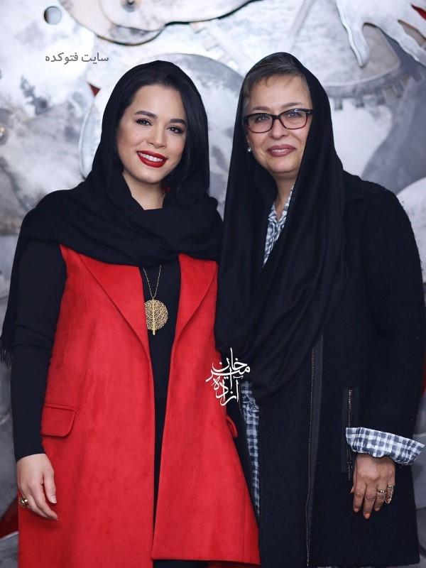 عکس جدید و بیوگرافی ملیکا شریفی نیا و مادرش