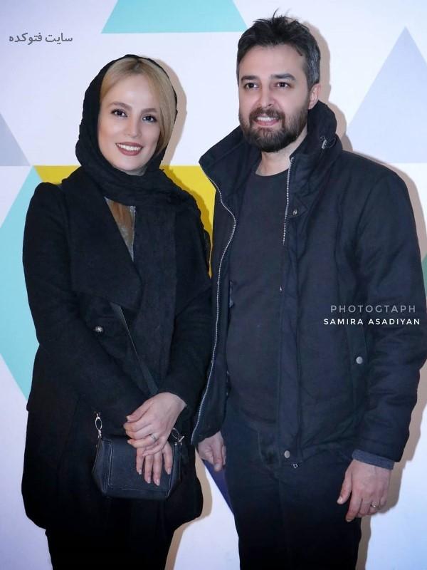 عکس جدید و بیوگرافی فرشته آلوسی و همسرش