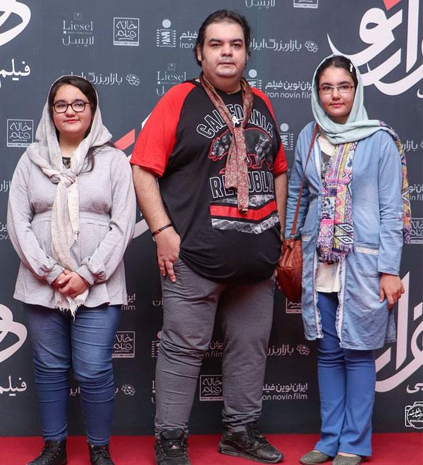 علی برقی و دخترانش در عکس و بیوگرافی خانوادگی بازیگران سال 98