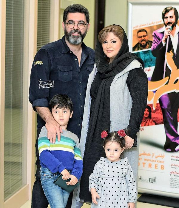 مصطفی کیایی و همسرش در عکس و بیوگرافی چهره های مشهور و معروف