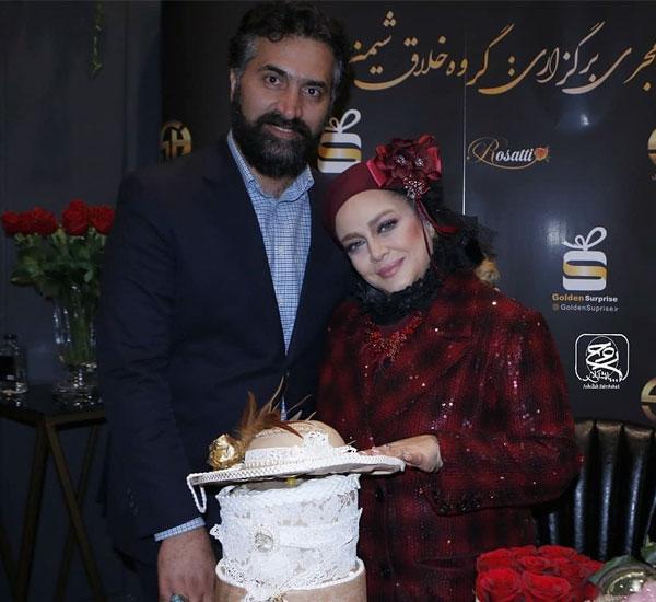 عکس خانوادگی بازیگران سال 98 بهاره رهنما و همسرش