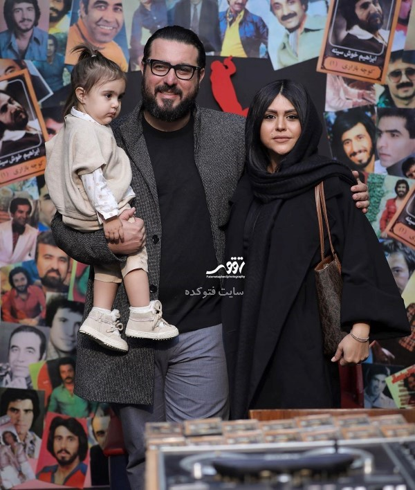 محسن کیایی و همسرش در خانواده چهره های مشهور سال 98