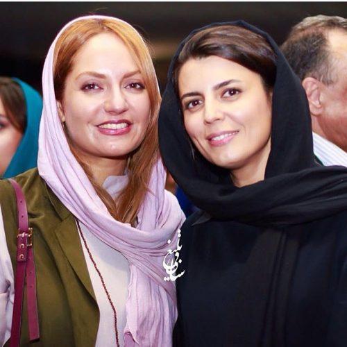 عکس لیلا حاتمی و مهناز افشار