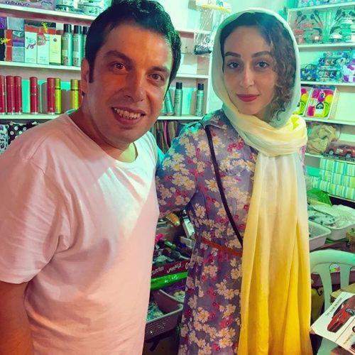 عکس عباس جمشدی و همسرش فریبا امینیان