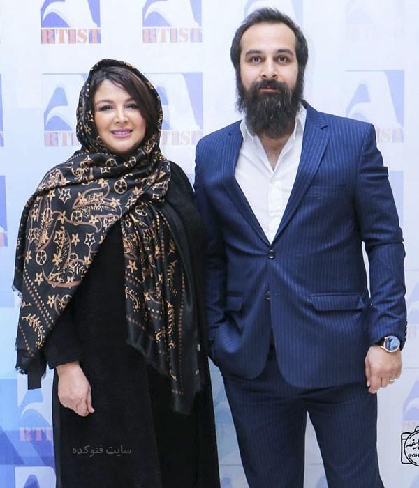 بازیگران در دی ماه 97 شهره لرستانی و همسرش