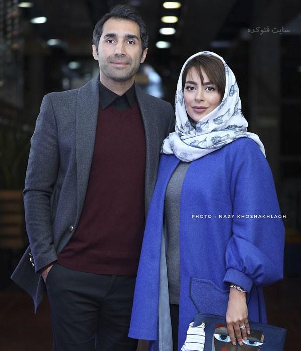 عکس بازیگران دی 97 هاید کاظمی و همسرش