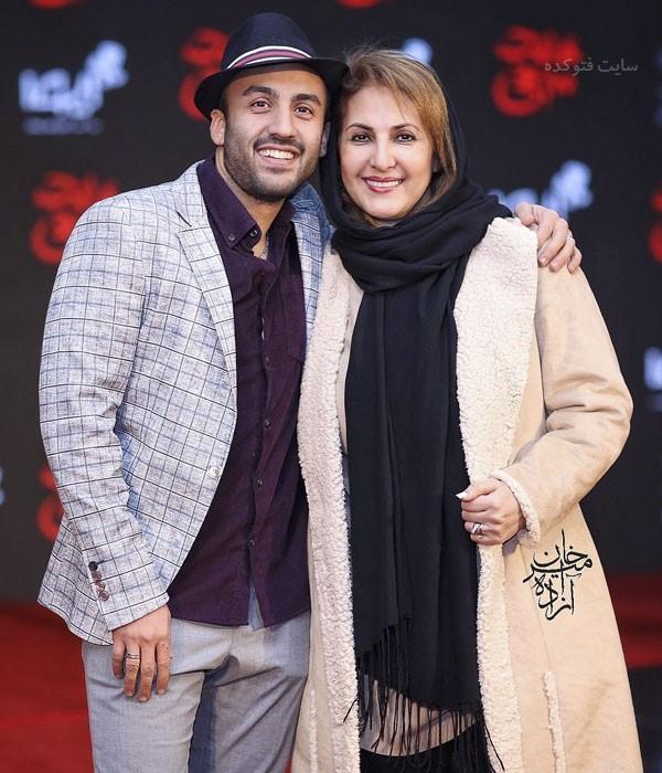 عکس بازیگران زن دی 97 فاطمه گودرزی و پسرش