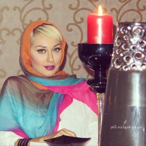 عکس صدف طاهریان در شبکه + کشف حجاب
