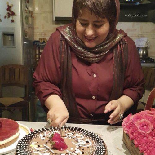 عکس رابعه اسکویی در شبکه جم + کشف حجاب