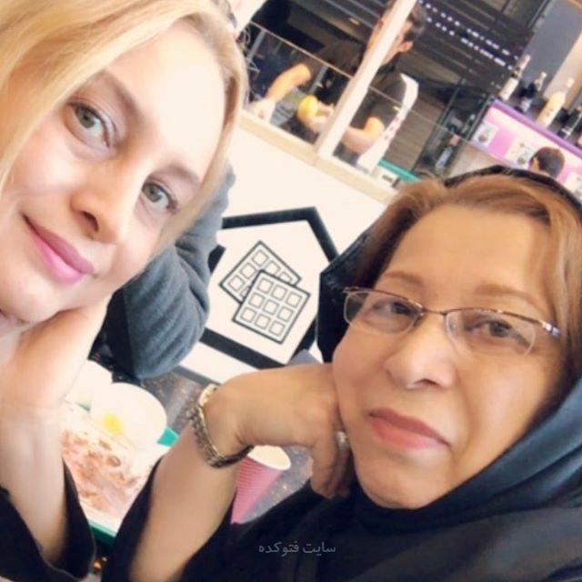 عکس مریم کاویانی و مادرش