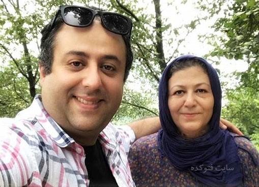 عکس ابراهیم شفیعی و مادرش