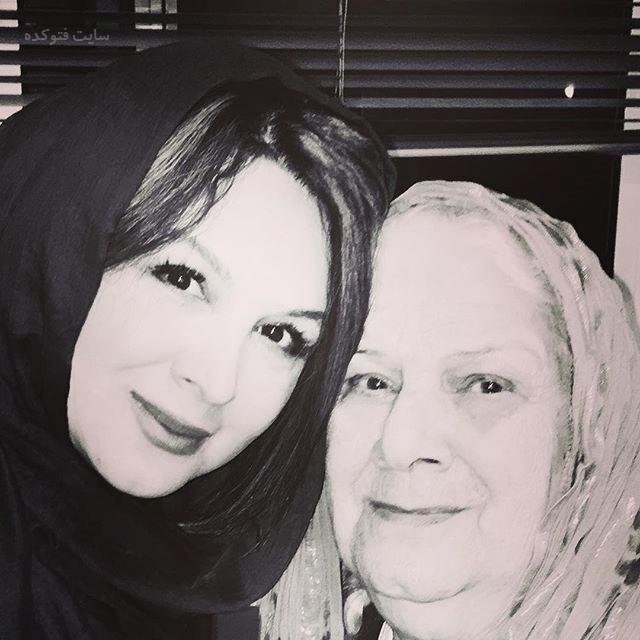 عکس شهره لرستانی و مادرش