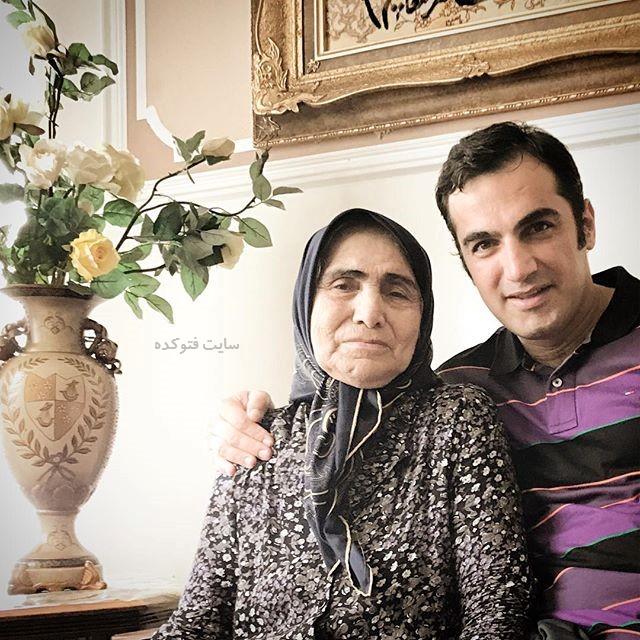 عکس کوروش سلیمانی و مادرش