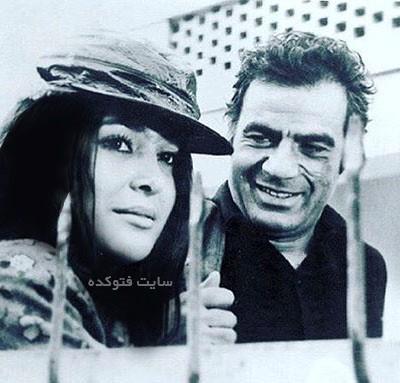 عکس ناصر ملک مطیعی و آفرین عبیسی قبل از انقلاب
