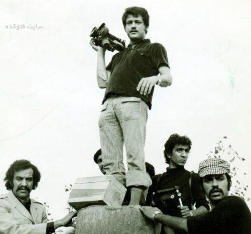 عکس ایرج صادق پور همسر فریب عبیسی