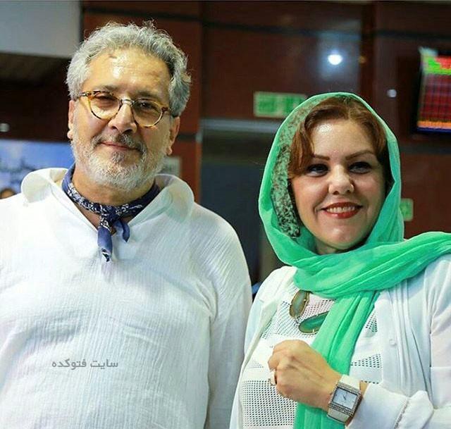 عکس افسانه چهره آزاد و همسرش شاهرخ فروتنیان + بیوگرافی