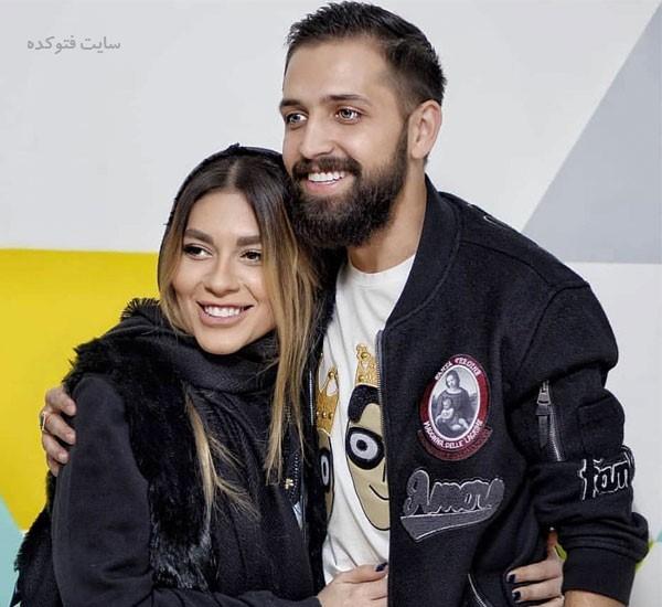 عکس بیوگرافی محسن افشانی و همسرش سویل تیانی خیابانی