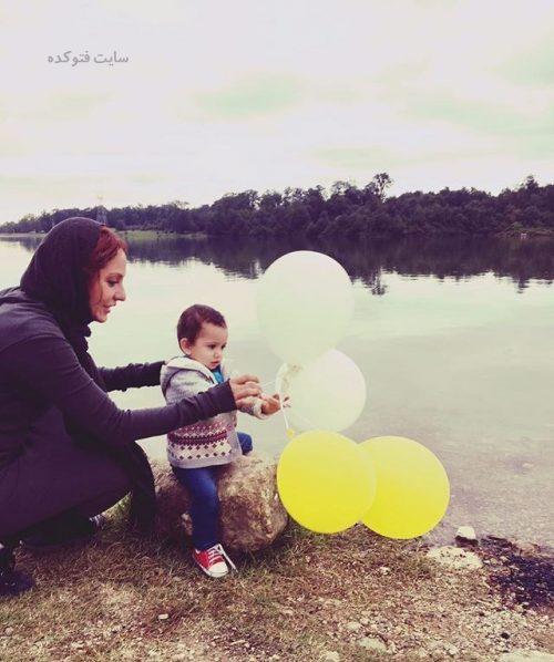 عکس مهناز افشار و دخترش لیا + بیوگرافی کامل