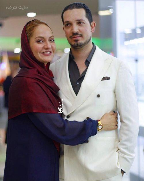 عکس مهناز افشار و همسرش + دستگیر و بازداشت + علت طلاق و جدایی