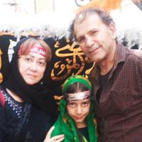 بیوگرافی افشین سنگ چاپ و همسرش + داستان زندگی