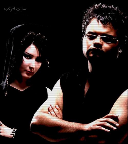 عکس افشین آذری و نسیم + زندگی شخصی و همسرش