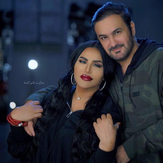 عکس احلام خواننده و همسرشمبارک الهاجری + بیوگرافی کامل