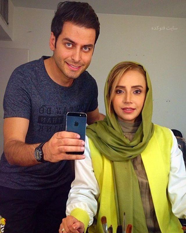 عکس احمد پور بخش و شبنم قلی خوانی