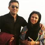 احمدرضا عابدزاده و همسرش عکس و بیوگرافی