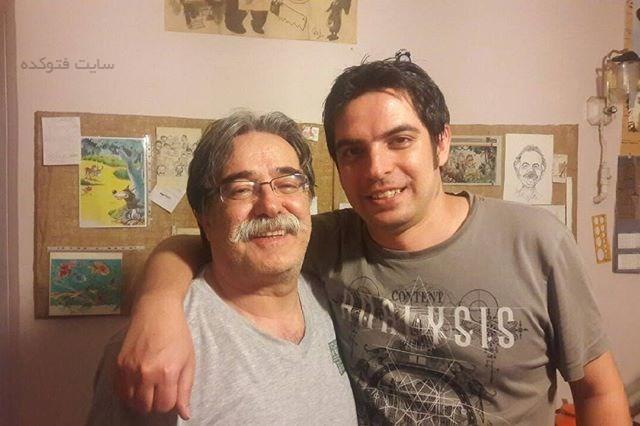 احمد عربانی و پسرش