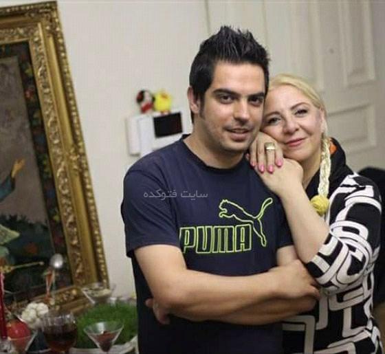 همسر و پسر احمد عربانی