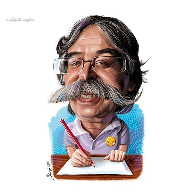 کاریکاتور احمد عربانی