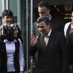 ویدیو واکنش احمدی نژاد به بی بی سی