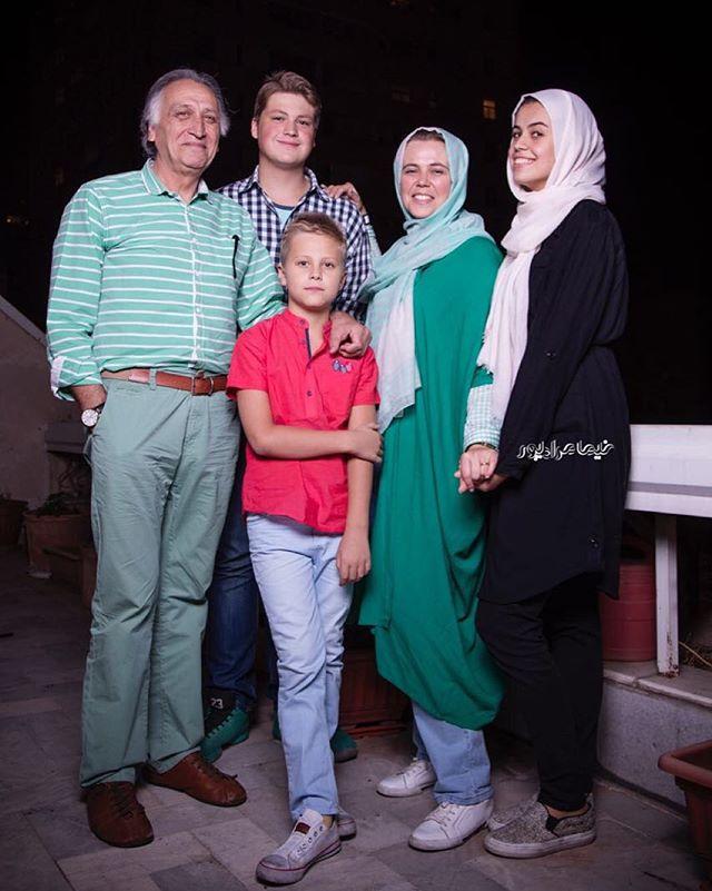 عکس احمد نجفی و همسرش + خانواده با بیوگرافی کامل